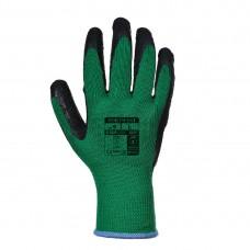 Portwest  A100 - Grip Glove - Latex Green/Black
