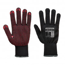 Portwest  A110 - Polka Dot Glove Black