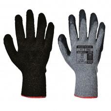 Portwest  A150 - Classic Grip Glove - Latex Black