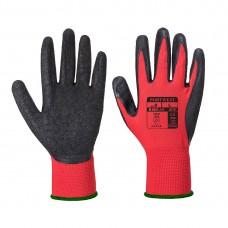 Portwest  A174 - Flex Grip Latex Glove Red/Black