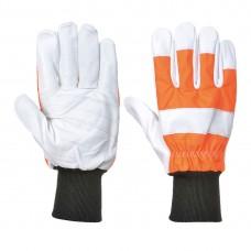 Portwest  A290 - Oak Chainsaw Protective Glove (Class 0) Orange
