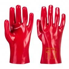 Portwest  A427 - PVC Gauntlet Red
