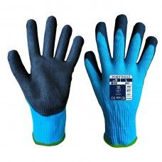 Portwest  A667 - Claymore AHR Cut Glove Blue/Black