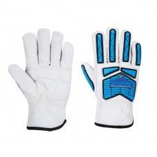 Portwest  A781 - Arc-Flash Impact Driver Glove White/Blue