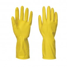 Portwest  A800 - Household Latex Gloves (240 Pairs) Yellow
