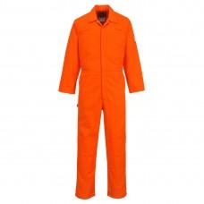 Portwest  BZ40 - Bizweld Moleskin Coverall Orange