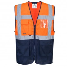 C377 - Hi-Vis Two Tone MeshAir Executive Vest, Portwest