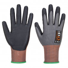 Portwest  CT32 - CT MR Micro Foam Nitrile Grey/Black