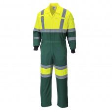 Portwest  E052 - X Hi-Vis Coverall Yellow/Green
