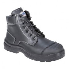 Portwest  FD10 - Clyde Safety Boot S3 HRO CI HI FO Black