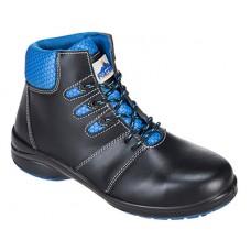 Portwest  FT49 - Steelite Lily Ladies Ankle Boot S1P Black