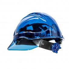 PV60 - Peak View Ratchet Hard Hat Vented Blue, Portwest