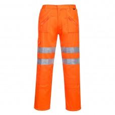 Portwest    RT47 - Rail Action Trousers Orange