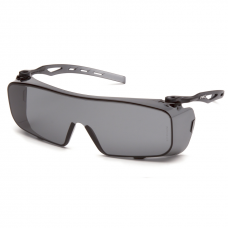 Supertouch Pyramex Cappture Grey Lens Anti-Fog Safety Spectacle